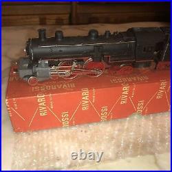 Rivarossi HO Scale L 221/R 4-4-2 Steam Locomotive & Tender/Box RARE