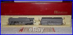 Rivarossi HO Scale NYC 4-6-4 Dreyfus Hudson Steam Locomotive & Tender #1543 MIB