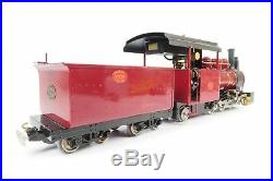 Roundhouse 16mm G Scale Live Steam Fowler Maroon 0-6-2'16255