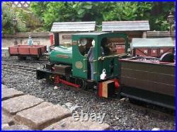 Roundhouse Bertie live steam 16mm scale garden railway locomotive 32mm gauge
