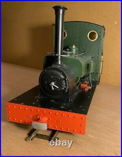 Roundhouse based 7/8scale live steam locomotive