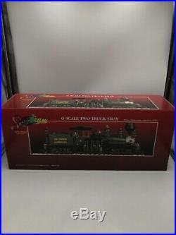 (S) Bachmann 81198 G Scale Spectrum Ely Thomas 36 Ton 2-Truck Shay/Box NIB A 1