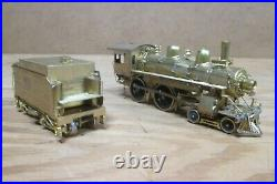 SOUTHERN PACIFIC TEXAS & NEW ORLEANS 4-4-0, FUJIYAMA HO Scale BRASS, NOS 1967