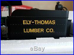 Spectrum 81198 G Scale Ely Thomas 36-Ton Two-Truck Shay Steam Locomotive NIB
