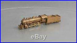 Sunset Models HO Scale BRASS Baltimore & Ohio B-18 4-6-0 Steam Locomotive & Tend