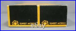 Sunset Models O Scale BRASS PRR RR S-1 6-4-4-6 Steam Loco & Tender witho Skirt