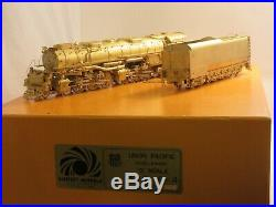 Sunset Union Pacific S Scale Brass Challenger 4-6-6-4 Steam Engine and Tender
