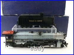 Texas & Pacific 2-10-4 T&P #615 Max Gray O 2 Rail Perfection Scale 1625 Painted