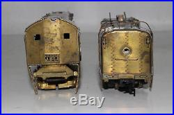 United Brass Ho Scale Southern Pacific Daylight 4-8-4 Steam Locomotive & Tender