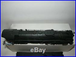 United Scale Ho Scale Brass Santa Fe 4-8-4 Steam Locomotive Weathered