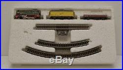 VTG Marklin Mini Club 8165A LTD Green Red Belgian Steam Locomotive Z Scale 0-6-2