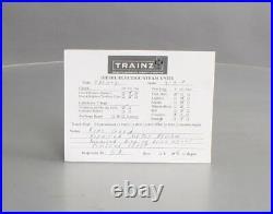 Varney O Scale 2-Rail Brass Canadian Pacific 4-4-0 Steam Locomotive & Tender