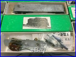 Vintage Bowser HO Scale Metal Train LOT 8 Pieces Unbuilt Kits Boxed Mint #909