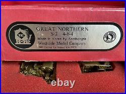 Vintage HO Scale BRASS Samhongsa, Great Northern S2 4-8-4