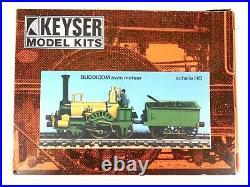 Vintage K's Keyser HO Scale 2-2-2 Buddicom & Motor White Metal Kit Sealed Rare