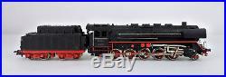 Vintage Marklin Ho Scale G 800 2-10-0 Steam Locomotive & Coal Tender -b