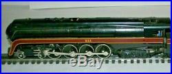 WILLIAMS O SCALE BRASS N&W J Class 4-8-4 NORTHERN Steam Loco & Tender