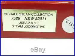 Walthers Heritage DCC USRA 2-8-8-2 Steam Locomotive Set Norfolk&Western N Scale