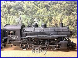 Weaver Baldwin 2-8-0 Consolidation O Scale 2-Rail 2R Boston And Maine Weathered