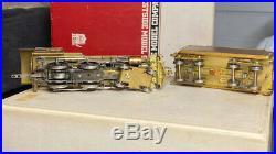Westside Model Brass PRR D-16SB 4-4-0 Steam Loco Unpainted HO Scale