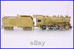 Westside Model Co. Brass HO Scale Long Island 4-6-0 G5s Locomotive and Tender