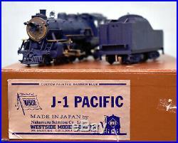 Westside Model Co. Brass HO Scale Wabash 4-6-2 J-1 Pacific