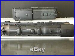 Westside Model Co HO Scale Brass 4-10-2 #5037 Southern Pacific Custom weathered