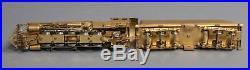 Westside Model Co. HO Scale Brass ATSF 2-10-2 Steam Locomotive & Tender EX/Box