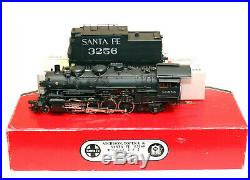 Westside Model Co. O Scale Atsf #3160 2-8-2 Mikado Steam Loco. Custom Painted