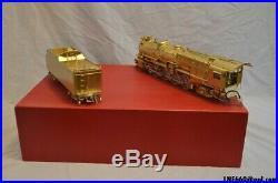 Westside Models brass 2-rail O scale Pennsylvania railroad m-1 4-8-2 Locomotive