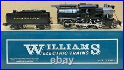 Williams CE 5016 (Sam) Lackawanna Camelback Steam Engine O-Scale 3-Rail PROJECT