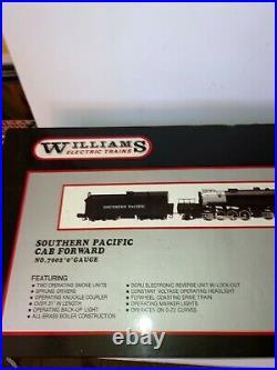 Williams O Scale Southern Pacific 2-8-8-4 Cab Forward #7002 Brass Boiler Runs, OB