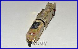 Z Scale Marklin 2-10-0 Steam Tank Locomotive & Tender Custom WWII Camo Paint